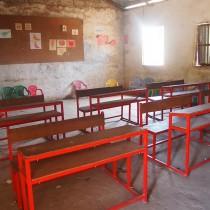 Classroom before we refurbished